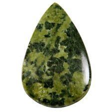 Canadian Jade Pear Natural Cabochon Loose Gemstone 45.7 cts MF30