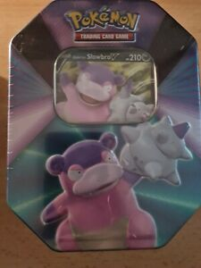 Pokemon Tin Box 2021 Lahmus / Slowbro Neu