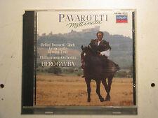 Luciano PAVAROTTI : Mattinata CD 1985 Piero GAMBA Classical Aria Neapolitan Song