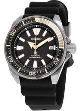 Seiko Prospex Samurai Automatic SRPB55 Rubber Band Black Dial Men's Diver's Wat