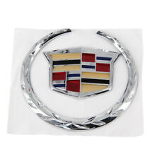 "For Cadillac Front Grille 6"" Emblem Hood Badge Chrome Ornament"