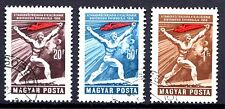 Hungary - 1959 40 years republic Mi. 1578-80 VFU