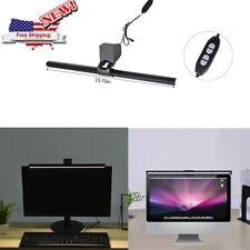 Computer Monitor Light ScreenBar E-Reading LED Task Lamp Dimmable USB Computer