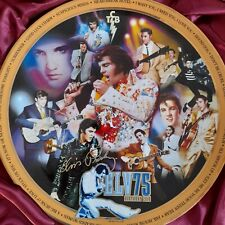 More details for elvis 75th anniversary commemorative plate bnib