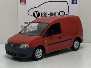 Minichamps Volkswagen Caddy 2k Red 1/43 NEW unboxed VW Caddy