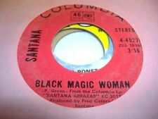 Rock 45 SANTANA Black Magic Woman on Columbia