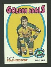 Tony Featherstone California Golden Seals 1971-72 Topps Hockey Card #106 NM