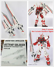 M3 Swords Weapon Unit Equipment Type for Bandai 1/60 PG Gundam Astray Red Frame