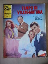 Fotoromanzo Super Star Cinema  tempo Villeggiatura  anni 50 De Sica Arena [G771]