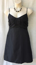 Katies Size 16 Black Satin Cocktail Dress NEW+TAG Evening Party Special Occasion