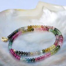 Markenlose Sets mit Turmalin-Halsketten mit Edelsteinen