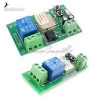 DC5V/DC5V-12V Self-lock Smart WiFi Wireless Switch Relay Module APP Control