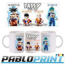 Fathers Day Gift Mug 11oz Dragon Ball Goku Daddy Dad Coffee Tea Birthday
