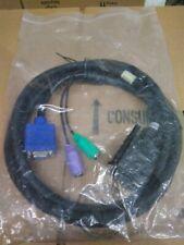 IBM Molex KVM Cable DVI to VGA and PS/2 6 Feet 00N6954