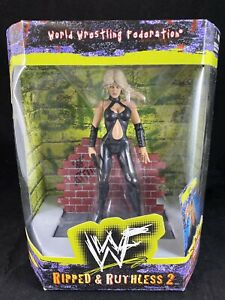 1998 WWF Jakks Pacific Ripped and Ruthless 2 Figure SABLE WWE Figure R28