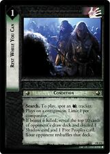 LoTR TCG TTT The Two Towers Rest While You Can 4R171