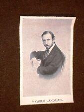Carlo Landriani Morto nel 1905