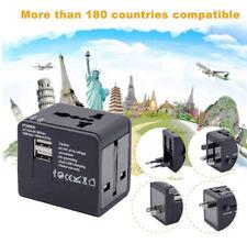 Universel Voyage Adaptateur convertisseur Double 2 USB Port Prise AU/UK/US/EU FR