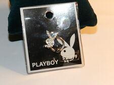 PLAYBOY crystal bunny captive bead ring Body piercing 14 Gauge - HALF PRICE