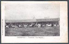 ROMA LADISPOLI 12 TRATTORIA Cartolina viaggiata 1906