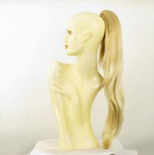 Extension coda di cavallo lunga 70 cm biondo dorato molto chiaro 5 en 24bt613