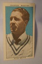 "1948 Nabisco ""Leading Cricketers"" Vintage Cricket Card - E. Toshack."