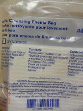 Basic Cleansing Enema Bag Medline DYND70102 NEW - 1 pc