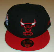 Chicago Bulls NBA New Era Hat Cap 7 7/8 All Star Logo City Patch Basketball