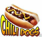 Chili Dogs Hot Dogs DECAL 14