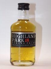 Whisky Highland Park 18 Viking Pride 50 ml 43% mini botella bottle Miniature