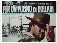 UNUSED Clint Eastwood A FISTFUL OF DOLLARS original movie  press POSTER JAPAN