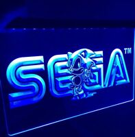 NEW SEGA SONIC Arcade LED Sign for Game Room,Office,Bar,Man Cave, Business