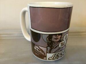 Jessica Jones Marvel Comics Coffee Mug with comic book print
