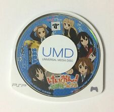 USED PSP Disc Only K-On Houkago Live JAPAN Sony PlayStation Portable import game