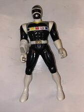1998 Power Rangers In Space Galaxy Black 8? Action Figure Bandai