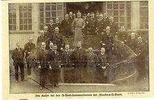 Der Kaiser bei den U-Boot-Kommandanten der Flandern-U-Boote 1918