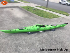 Jetocean Single Sit-in Turing Kayak 502cm with Paddle and Rudder Green