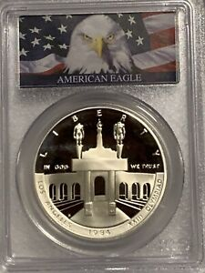 1984-S US Olympic Commemorative Proof Silver Dollar - PCGS PR70 DCAM