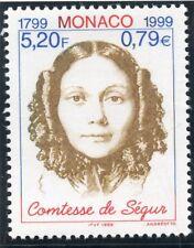 TIMBRE DE MONACO N° 2210 ** CONTESSE DE SEGUR / ECRIVAIN