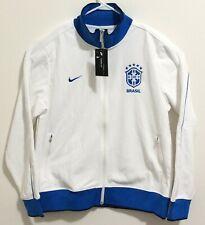 New 2019-2020 Brazil Nike Authentic N98 WHITE/SIGNAL BLUE Jacket Size XL NWT