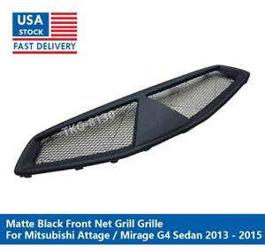 Front Net Grille Grill For Mitsubishi Attrage / Mirage G4 Sedan 2013 2014 2015