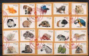 USA  2016 Mi 5300-5319 animals used 24.-Eu