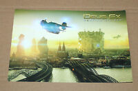 Deus Ex Mankind Divided rare Promo Large Postcard Gamescom 2016