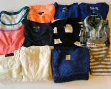 Women's Clothing Lot of 12 Tops/Blouse/Shirt Sm / XS Resell Box Resale Wholesale