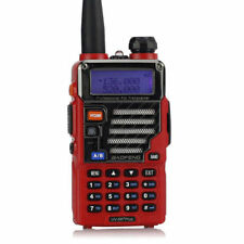 BaoFeng UV-5R Plus Qualette ROJO 136-174/400-520MHz Portatil Transceptor Emisora