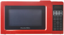 Microwave Oven 0.7 Cu.ft Digital Precise Cooking Small Appliance Led Display Red