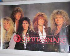 """Whitesnake Slip Of The Tongue 1989 24x36"""" Promo Cd Store Poster 2 Sided [P75]"""