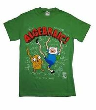 Authentic Cartoon Network Adventure Time Algebraic Finn & Jake T Shirt S