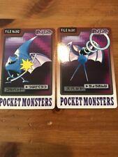 Japanese Bandai Carddass Pokemon Card Lot Zubat Golbat