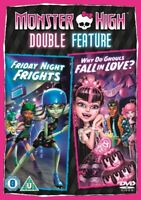 Nuevo Monster High - Friday Noche Sustos/Why Do Ghouls Fall IN Love DVD